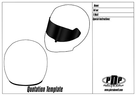 Stilo ST4 helmet template